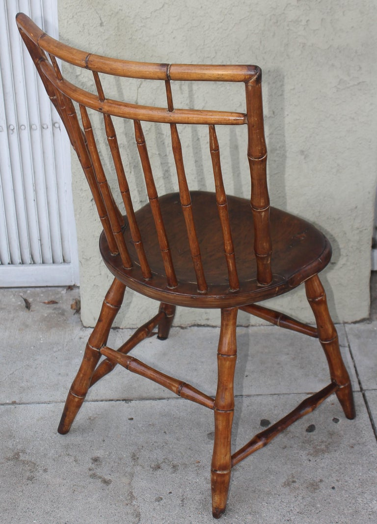 American 19th Century Bird Cage Windsor Chairs from Pennsylvania -4 For Sale