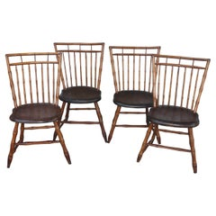 19th Century Bird Cage Windsor Chairs from Pennsylvania -4