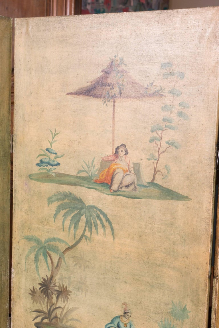19th Century Chinoiserie Screen In Fair Condition For Sale In New Orleans, LA