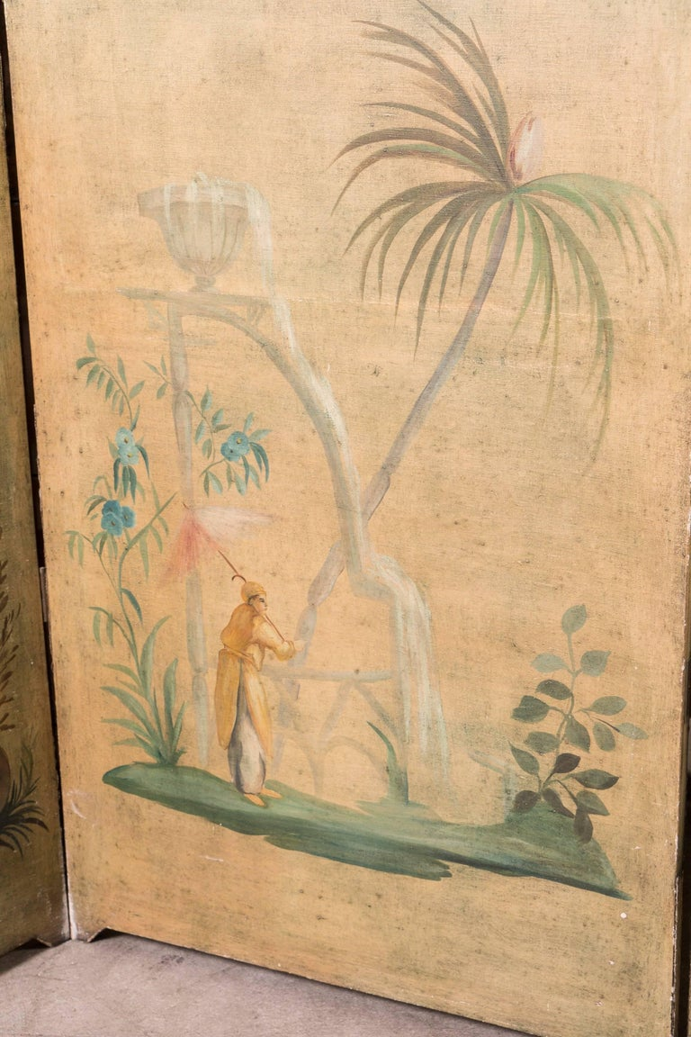 19th Century Chinoiserie Screen For Sale 1