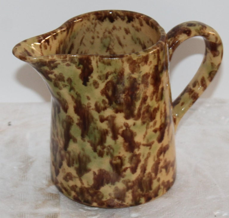 Country 19th Century Collection of Bennington Pottery / 6 Pieces For Sale