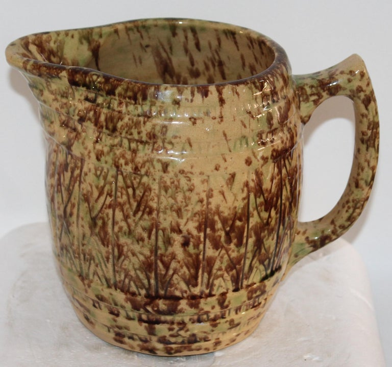American 19th Century Collection of Bennington Pottery / 6 Pieces For Sale