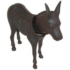 19Thc Donkey Door Stop with Nodder Head