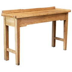 19thC English Butchers Bench Work Table