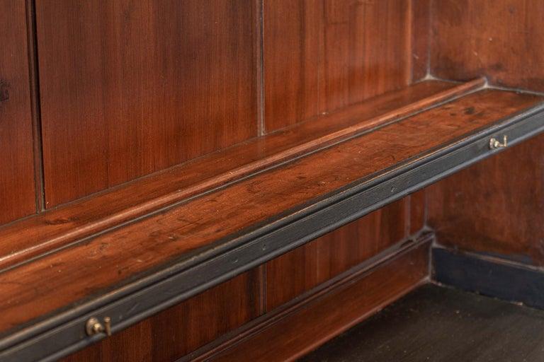 19thC English Ebonised Potboard Pine Dresser For Sale 1