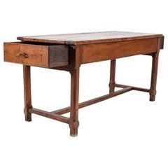 19thC French Fruitwood Farmhouse Table