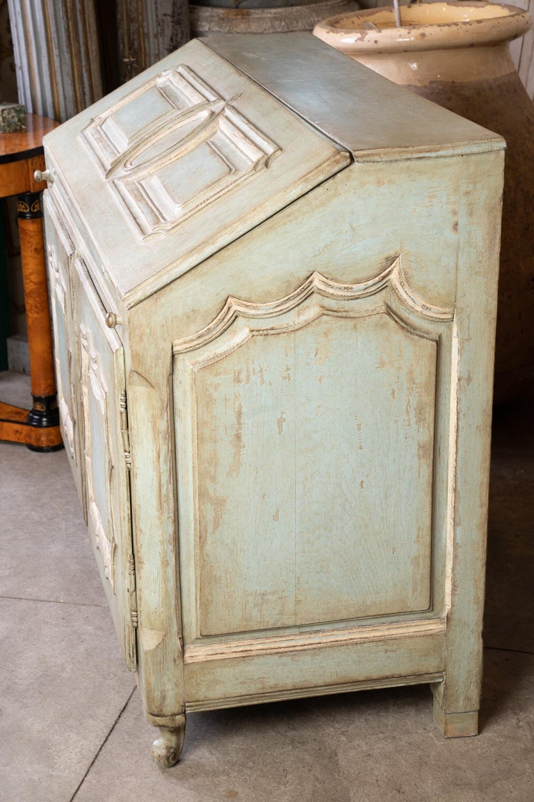 19th Century 19thc French Painted Secretary For Sale