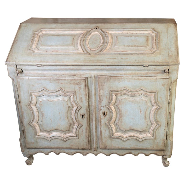 19thc French Painted Secretary For Sale
