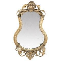 19th Century Gilt Gesso Girandole Mirror, circa 1870