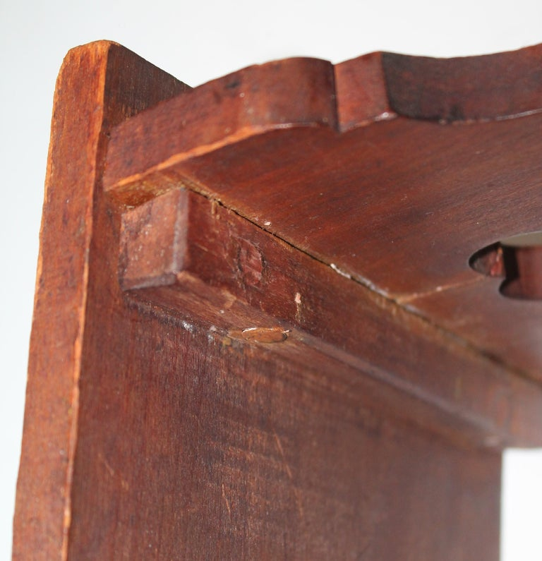 19th Century Hand Carved Foot Stool For Sale 3