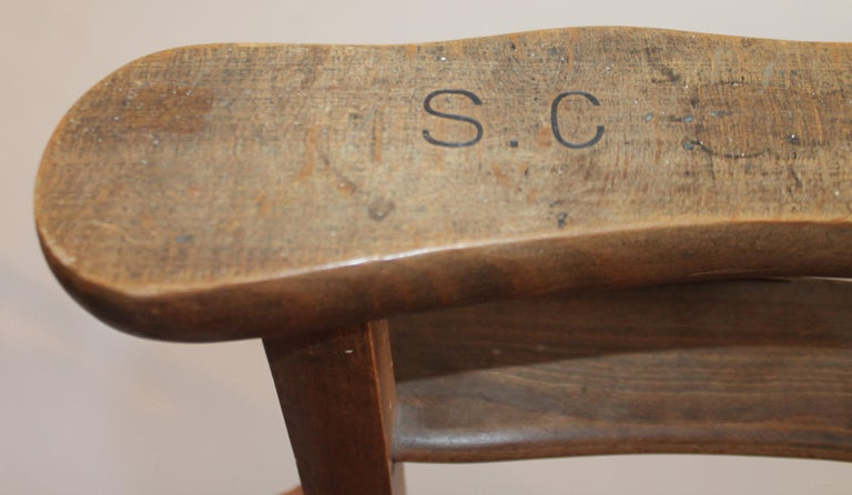 19th Century High Chair with Lift Top Seat For Sale 4