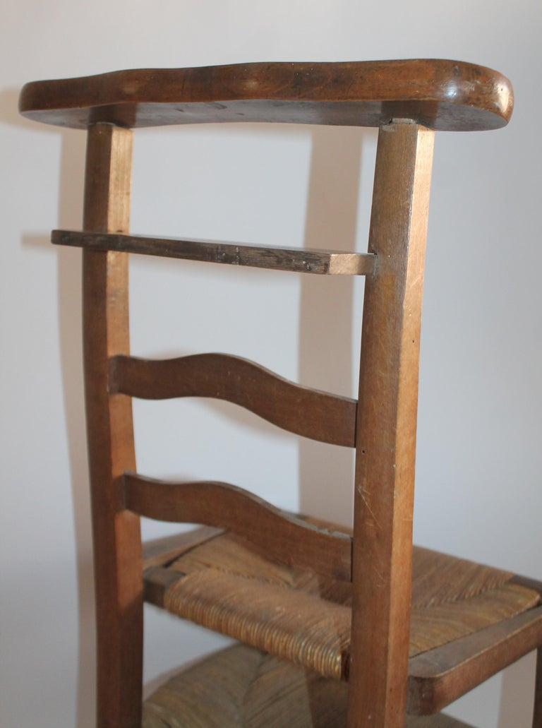 19th Century High Chair with Lift Top Seat For Sale 1