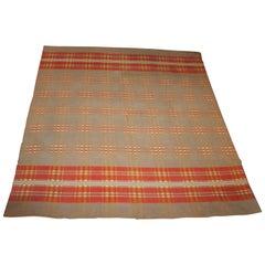 19th Century Horse Blanket / Saddle Blanket