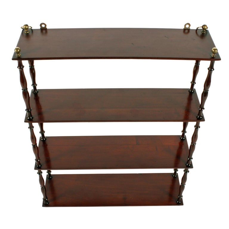 19th Century Mahogany Wall Shelves In Good Condition In Newcastle Upon Tyne, GB
