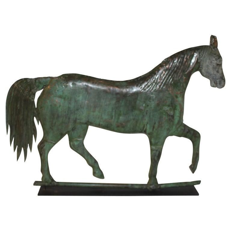 19thc Monumental Harris Horse Weather Vane For Sale