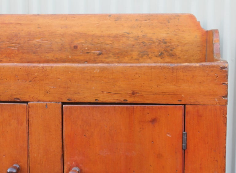 Hand-Crafted 19th Century Pennsylvania Two-Door Dry Sink For Sale