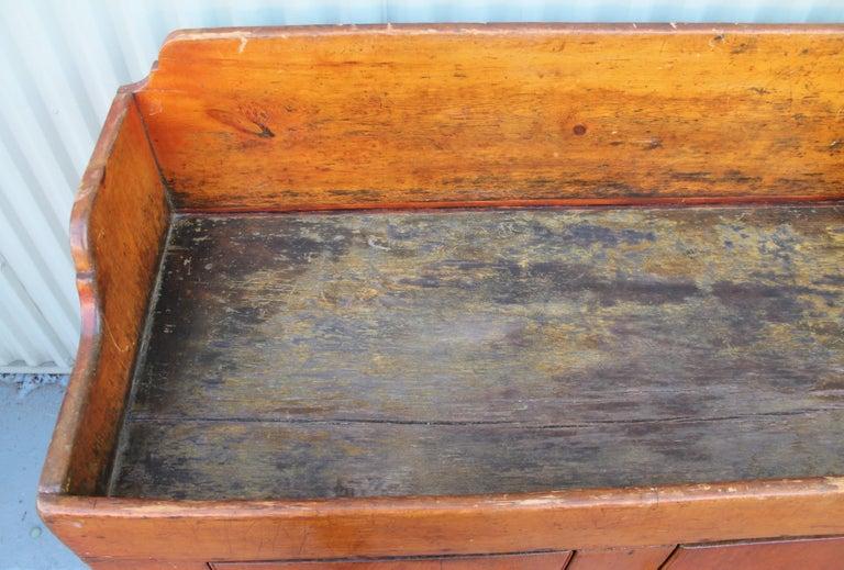 19th Century Pennsylvania Two-Door Dry Sink For Sale 1