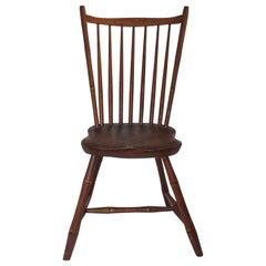 19th Century Rod Back Early Windsor Chair