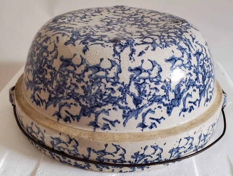 19th Century Sponge Ware Pottery, 3 Pieces For Sale 3