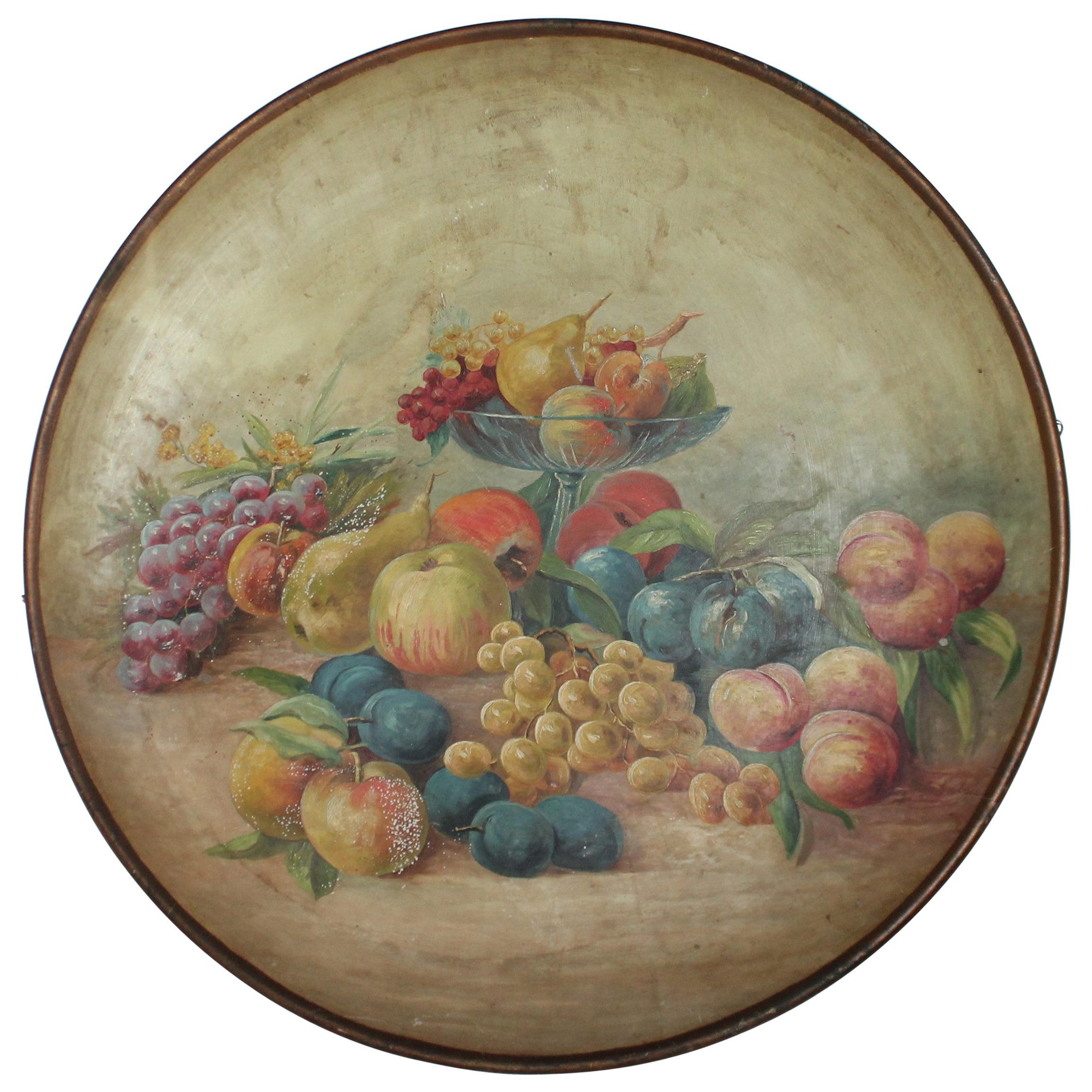 19th Century Still Life Oil Painting Signed Otto C. Kuban, Laguna Beach, Calif
