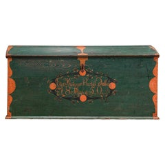 19th Century Swedish Marriage/Dowry Chest