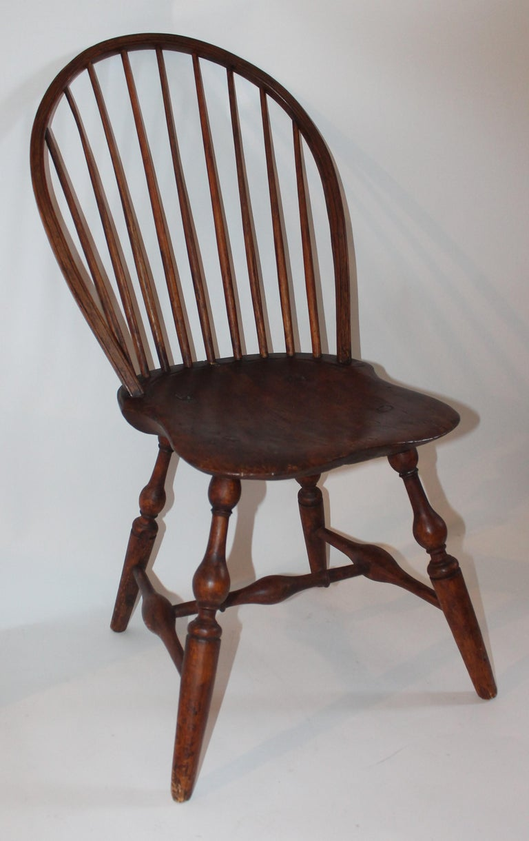 19th Century Windsor Chair Collection / 3 For Sale 9