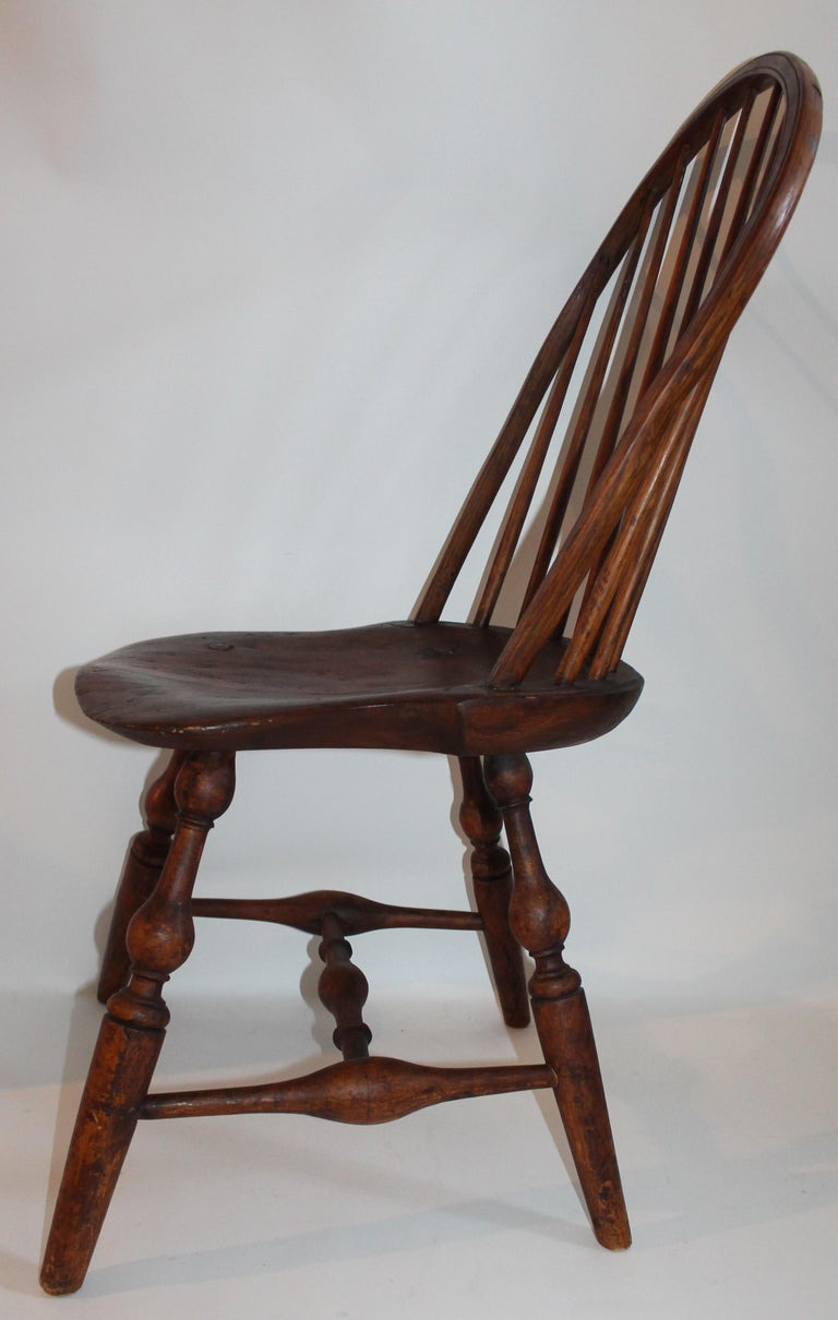19th Century Windsor Chair Collection / 3 For Sale 10