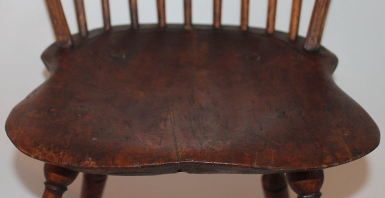 19th Century Windsor Chair Collection / 3 For Sale 12