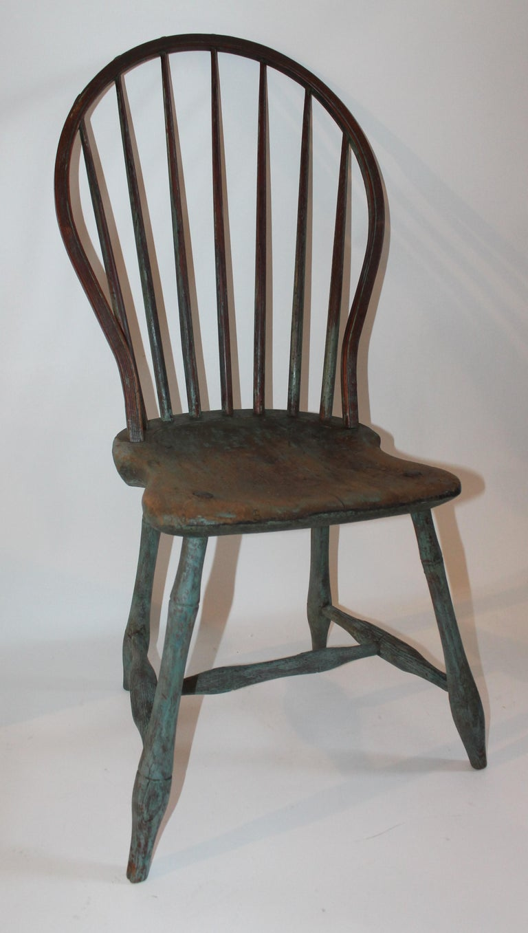 Hand-Crafted 19th Century Windsor Chair Collection / 3 For Sale