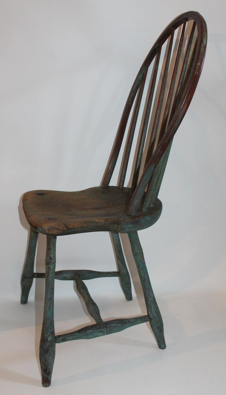 Wood 19th Century Windsor Chair Collection / 3 For Sale