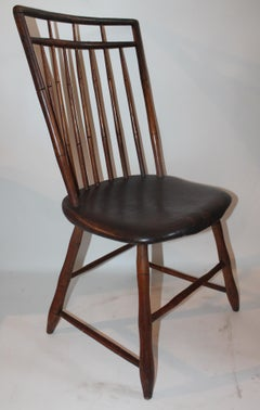 19ThcBird Cage  Windsor Chair From Pennsylvania