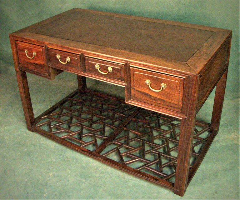 Asian 19th.Century Chinese Centre Table or Desk For Sale