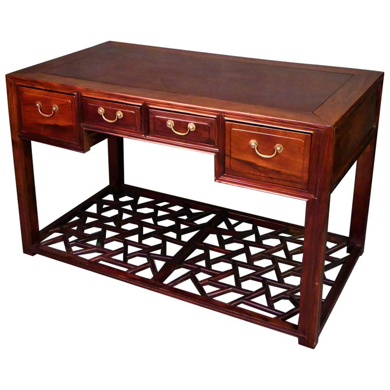 19th.Century Chinese Centre Table or Desk For Sale