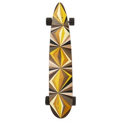 1M Marquetry Pintail Longboard