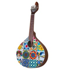 1st Century Azulejo V Guitar Handpainted by Malabar