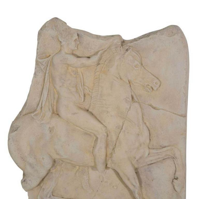 1st century BC Greek relief cast.  Cast from the original currently on permanent display at the Metropolitan Museum of Art in New York. Acquired by them in 1907. We believe that the one on display has now been restored, so this is an accurate