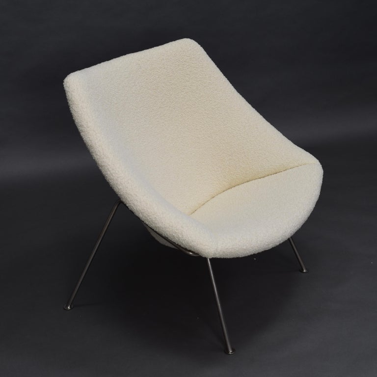 1st Edition Oyster Lounge Chair by Pierre Paulin Artifort New Upholstery, 1965 3