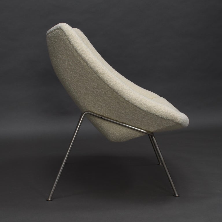 1st Edition Oyster Lounge Chair by Pierre Paulin Artifort New Upholstery, 1965 8