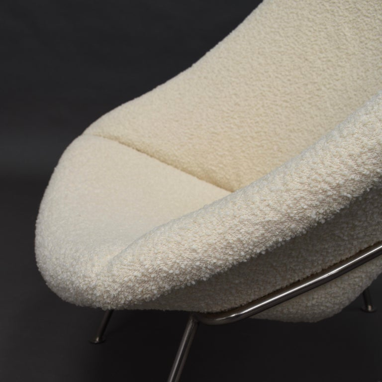 1st Edition Oyster Lounge Chair by Pierre Paulin Artifort New Upholstery, 1965 11