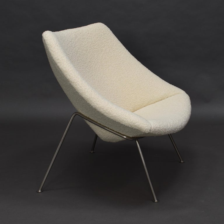 Early 1st edition production 'Oyster' F157 lounge chair by Pierre Paulin for ARTIFORT – 1965.