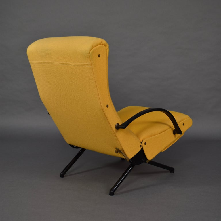 Mid-20th Century First Edition P40 Lounge Chair by Borsani for Tecno, Italy, circa 1950 For Sale