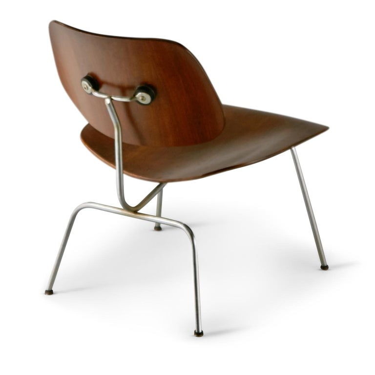 American 1st Generation Evans Production Charles and Ray Eames LCM Chairs, 1946, Signed For Sale