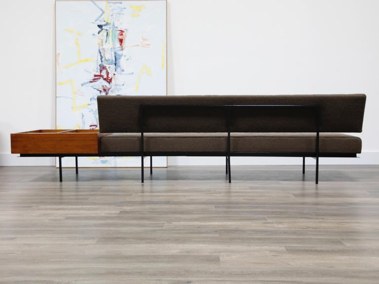 1st Generation Florence Knoll Model #578 Sofa by Knoll Associates, 1950s, Signed For Sale 12