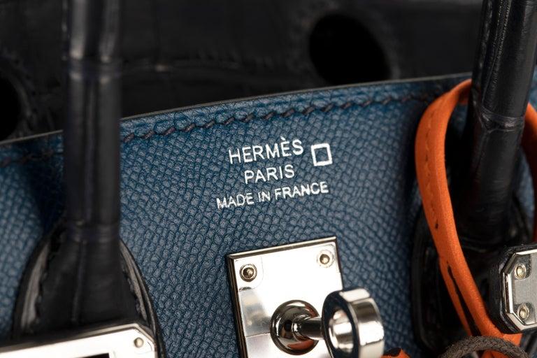 Black 1stdibs Exclusive Hermès Birkin 20cm