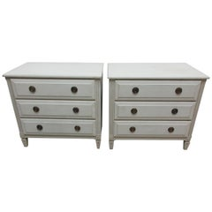 2-3 Drawer Gustavian Chest of Drawers