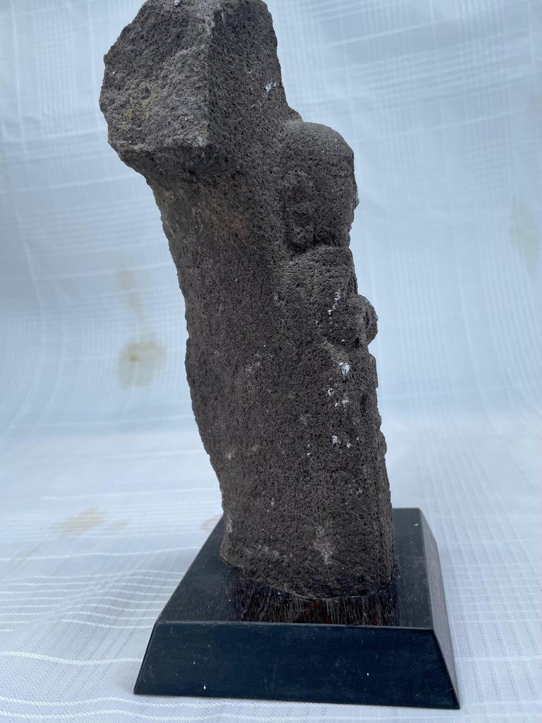 #2. 18th Century Japanese Jizo Bodhisattva Stone Carving. In Good Condition For Sale In Vero Beach, FL