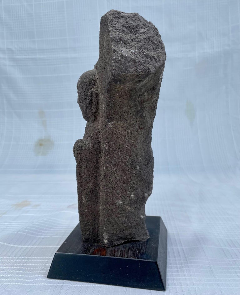 18th Century and Earlier #2. 18th Century Japanese Jizo Bodhisattva Stone Carving. For Sale
