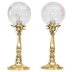 2 Art Deco Table Lamps, Vienna, around 1920s