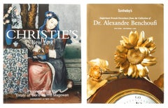 2 Auction Catalogues Estate of Doris Merrill Magowan & Dr. Alexandre Benchoufi