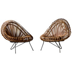2 Basket Lounge Chair, Janine Abraham / Dirk Jan Rol, 1955 by Edition Rougier